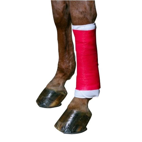 Euro-Farm-Bandage-hechtend-en-elastisch-rood-7.5cm-x-4.5m