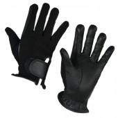 Covalliero-Handschoenen-Zico-leder-velcro-zwart