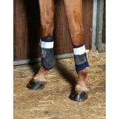 Euro-Horse-Line-Reflectie-bandage-2-stuks-zilver