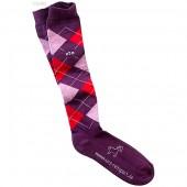 USG-Sokken-geruit-lila