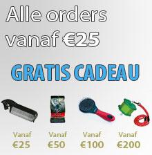 Gratis Cadeau bij iedere order vanaf 25 euro