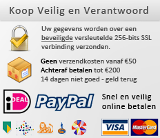 Koop verantwoordelijk en veilig bij Paardcare.nl. 14 dagen niet goed, geld terug. Beveiligde versleutelde SSL encryptie voor het overbrengen van informatie. Betaling middels Ideal en Paypal.